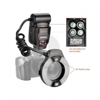 Meike Macro ring flash MK-14EXT 5