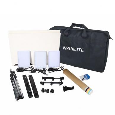 Nanlite Compac 20 3-light kit