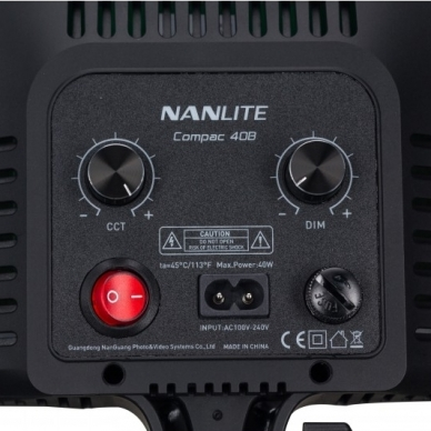 Nanlite Compac 40B Bi-color LED 6