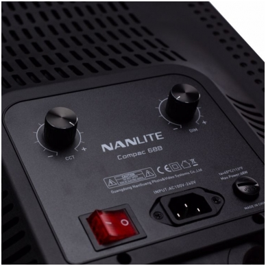 Nanlite COMPAC 68B BI-COLOR LED 5