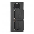 Newell DL-USB-C dviejų kanalų kroviklis NP-F550/770/970