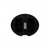 Newell 2 kanalų USB kroviklis NP-W126  baterijai