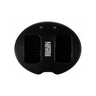 Newell 2 kanalų USB kroviklis FW50 baterijai 2