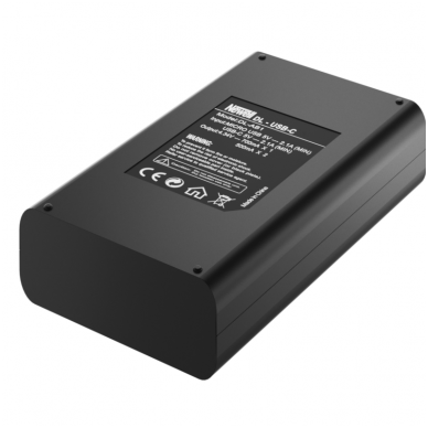 Newell DL-USB-C dviejų kanalų kroviklis Osmo Action baterijai 4