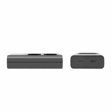 Newell LCD USB-C 2 kanalų kroviklis NP-FW50 baterijai 2