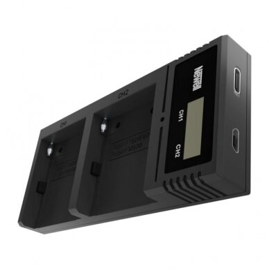 Newell Ultra Fast Type-C Dual Charger NP-F/FM