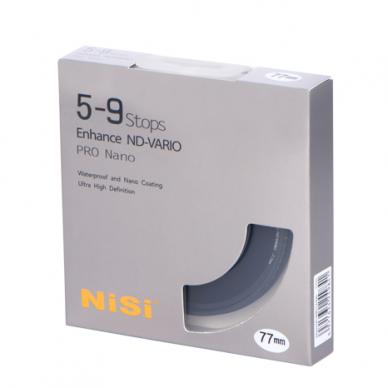 NiSi Filter ND-Vario 5-9 Stops Pro Nano 3