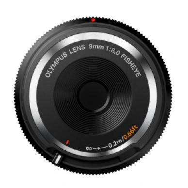 Olympus Body Cap Lens 9mm 1:8.0 Fisheye 2