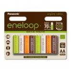 Panasonic Eneloop 8xAA BK-3MCCE/8RE organic