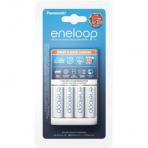 Baterijų įkroviklis Panasonic eneloop BQ-CC55 4 x AA 1900 mAh