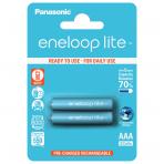 Panasonic Eneloop Lite 2xAAA BK-4LCCE/2BE