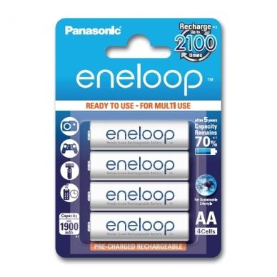 Panasonic Eneloop 4xAA BK-3MCCE/4BE