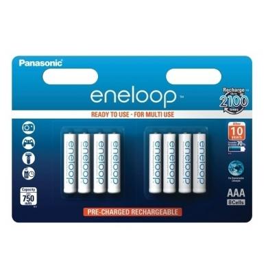 Panasonic Eneloop 8xAAA BK-4MCCE/8BE