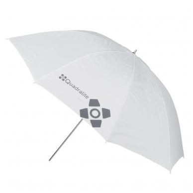 Quadralite Transparent White Umbrella 2