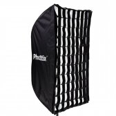 Phottix Easy Up Umbrella 60x90cm Softbox w/ Grid