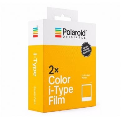 Polaroid Originals Color Film for I-Type 2-PACK