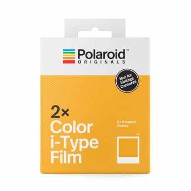 Polaroid Originals Color Film for I-Type 2-PACK 2