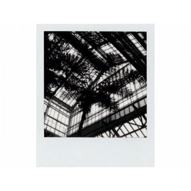 Polaroid Originals SX-70 B&W momentinės plokštelės baltu rėmeliu 5