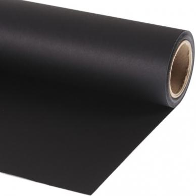 Popierinis fonas Manfrotto 2.72x11m Black 2