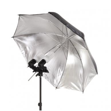 Dvigubas E27 lempų ir skėčio laikiklis TL-S 4