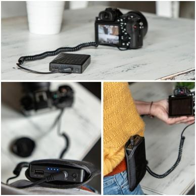 PowerBank Newell PB-FZ100 w/ battery adapter for Sony A7III 4