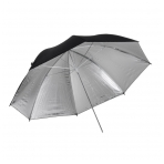 Quadralite Silver Umbrella