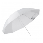 Quadralite Transparent White Umbrella