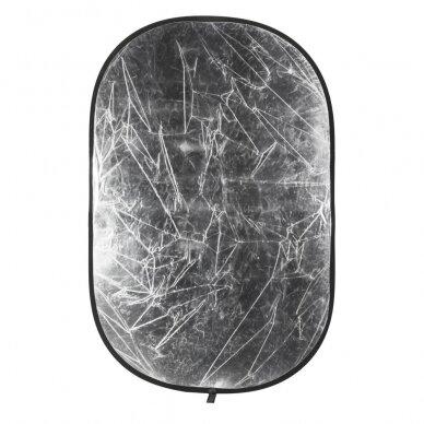 Quadralite 2in1 95x125cm reflektorius 2