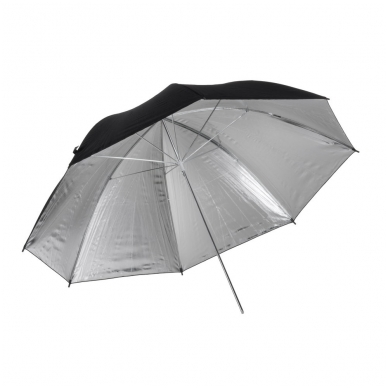 Quadralite Silver Umbrella