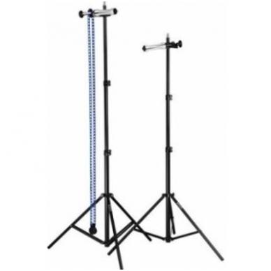 Quadralite nešiojama fonų laikymo sistema su grandine 2