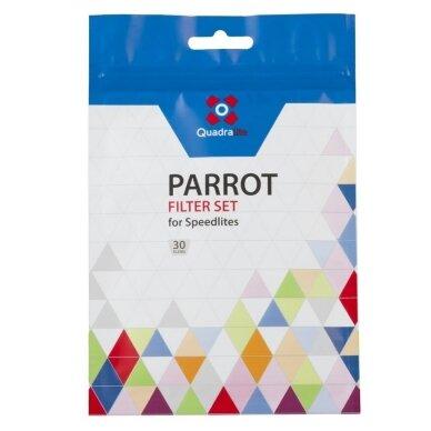 Quadralite Parrot geliniai filtrai blykstėms 3