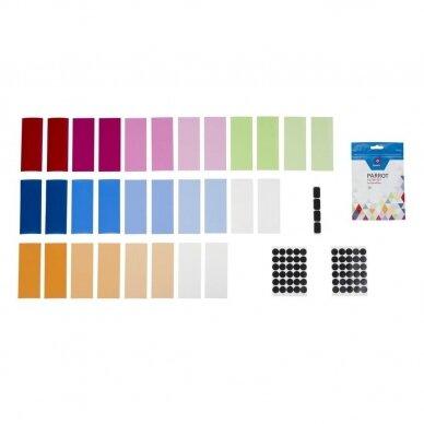 Quadralite Parrot geliniai filtrai blykstėms