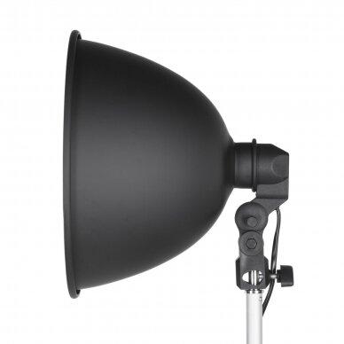 Quantuum LH-35 LED šviesdėžė su 3 lempomis 5500K 4