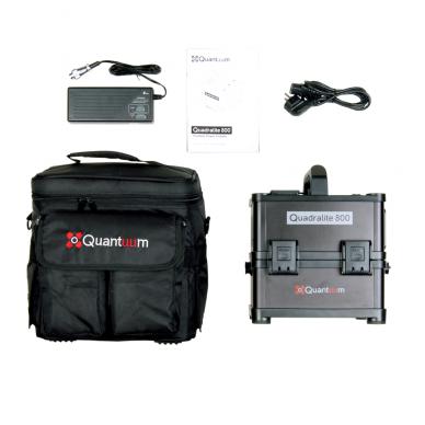 Quantuum Quadralite 800 PowerPack 9
