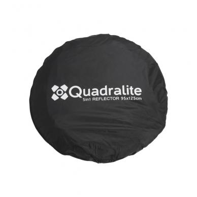 Quadralite 5in1 90x120cm reflektorius 8