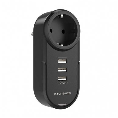 RAVPower RP-PC003 4in1 Power Strip Travel Charger