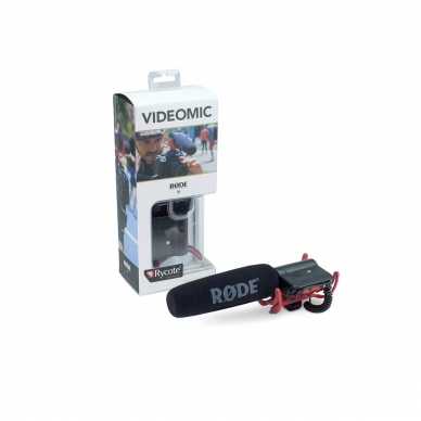 Rode VideoMic Rycote 4