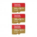 SanDisk Extreme microSDXC V30 A2 160MB/s