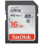 SanDisk SDHC 16GB Ultra 40mb/s