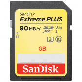 SanDisk Extreme PLUS SDHC/XC 600x 90mb/s