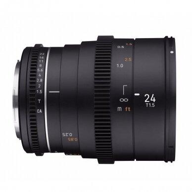 Samyang 24mm T1.5 VDSLR MK2