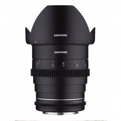 Samyang 24mm T1.5 VDSLR MK2 4