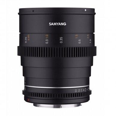Samyang 24mm T1.5 VDSLR MK2 2