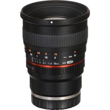 Samyang 50mm f1.4 AS UMC 3