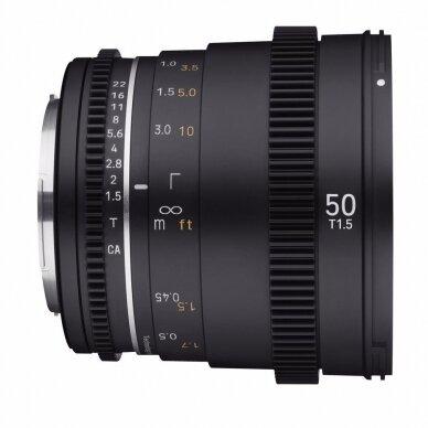 Samyang 50mm T1.5 VDSLR MK2