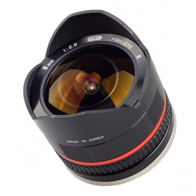 Samyang 8mm f/2.8 UMC Fish-eye II