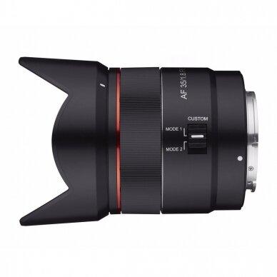 Samyang AF 35mm f1.8 Sony FE 4