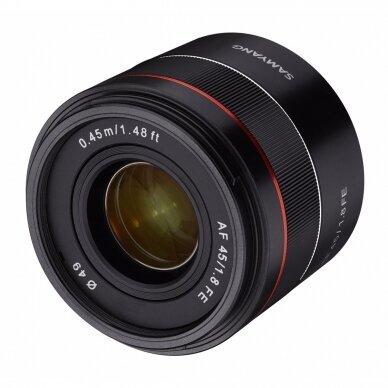 Samyang AF 45mm f1.8   Sony FE