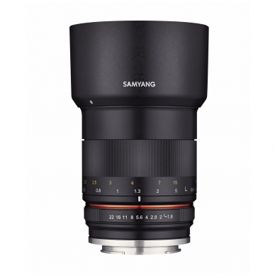Samyang MF 85mm f1.8 ED UMC CS 7