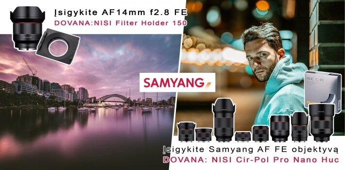 Samyang + NISI